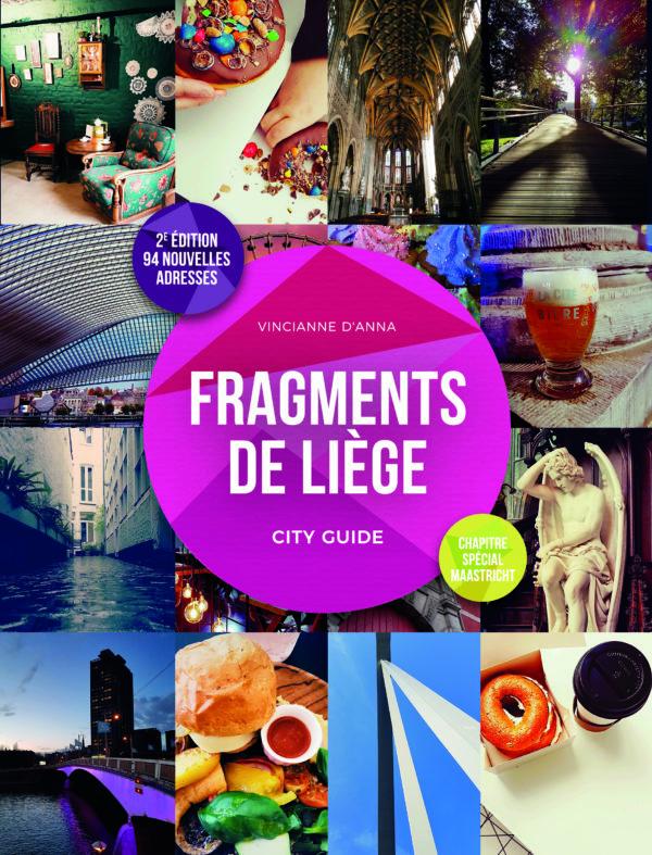 Couverture du cityguide Fragments de Liège Belgique, version française