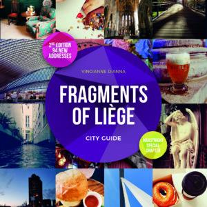 Couverture du cityguide Fragments of Liège Belgium, english version